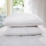 黄一恒羽丝绒枕芯 保健护颈枕 护颈枕头 助眠保健枕芯 五星酒店枕芯一对装枕芯