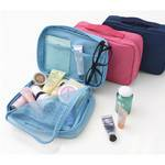户外旅行旅游洗漱包 航空洗漱用品套装  防水盥洗收纳化妆包
