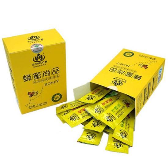 王巢  便携装多口味蜂蜜(洋槐、枣花、茶花、枇杷) 12克*20袋