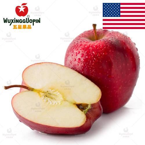 【五星果品】美国水果基地   红蛇苹果   优选12个