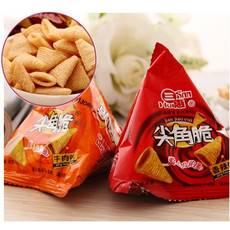 三惠尖角脆牛肉/烧烤/海苔/番茄/香辣/20g年货礼包办公室零食小吃