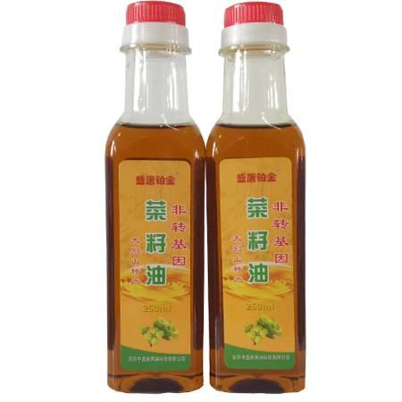 盛唐铂金 纯香菜籽油