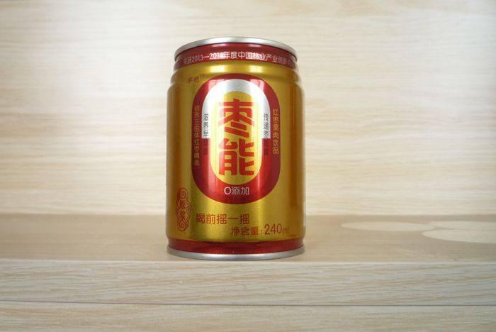 金罐纯枣浆饮品